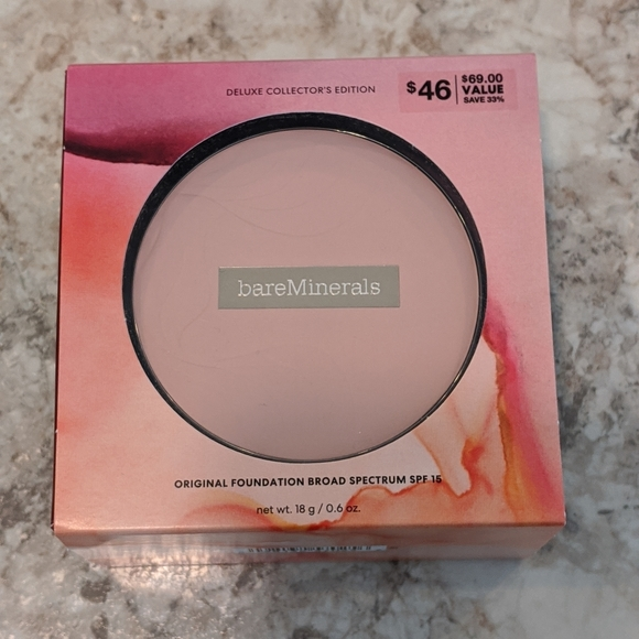 bareMinerals Other - bareMinerals Deluxe Collector's Edition Foundation